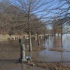 Flooding shifts south