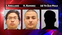 Three accused of tying, beating pregnant mother