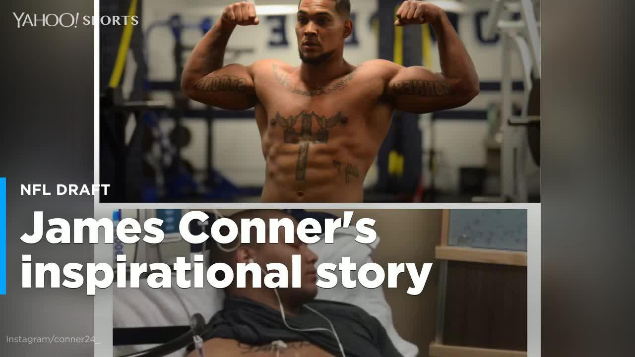 James Conner's inspiring NFL journey