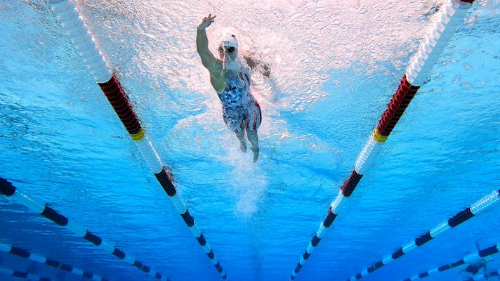 The Rush: Olympic legend Katie Ledecky had a hard time finding a pool to train in during the pandemic