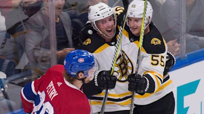 Bruins come back in 3-2 win over Canadiens