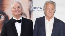 Bill Murray defends Dustin Hoffman over sexual harassment claims, says he's a 'great man,' but a 'flirt'