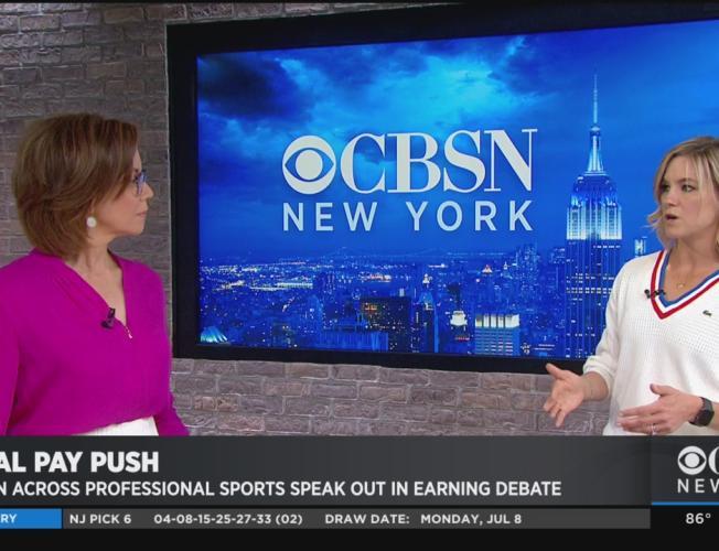Women Across Professional Sports Speak Out In Earning Debate