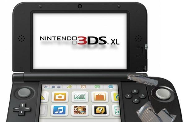 3DS XL to get Circle Pad Pro treatment, become that much larger