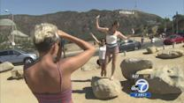 Hollywood Sign tourism frustrating residents