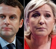 Le Pen, Macron Set For Run-Off In French Elections