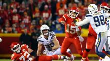 Chiefs QB Patrick Mahomes talks challenge of facing Chargers defense