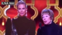 Iran news agency redacted Charlize Theron's cleavage during Oscars coverage