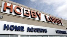 Hobby Lobby faces renewed calls for boycott following display seemingly endorsing Trump