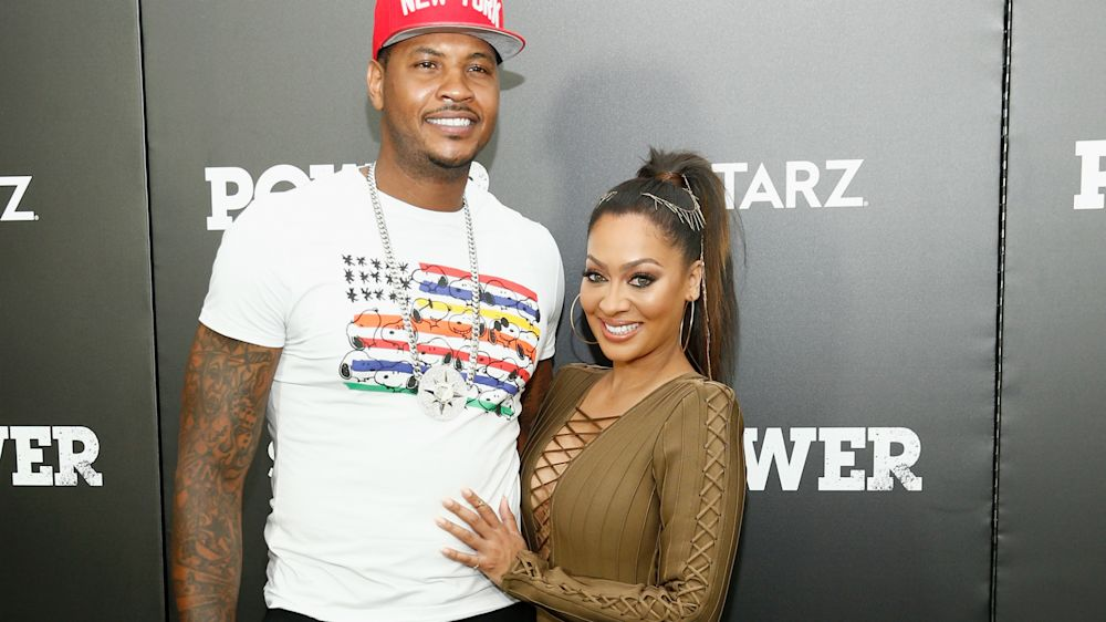 Carmelo and La La Anthony are reportedly separated, living in separate homes