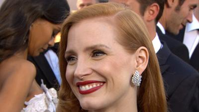 Oscars 2013: Jessica Chastain Talks Gratefulness For Acting Success And The Worst Job She Ever Had