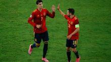 Foot - Euro - ESP - Le but d'Alvaro Morata pour l'Espagne contre la Pologne en vidéo