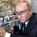 Putin says Russia perfected weapons based on Syria campaign