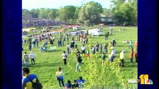 1981: Preakness balloons lift up, up and away