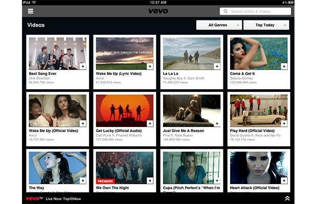 Vevo opts out of offline video on YouTube's mobile apps
