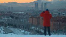 Las imágenes más impactantes de Madrid de blanco ante una nevada histórica
