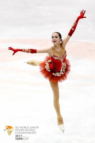 花滑世青賽 俄羅斯天才少女破紀錄奪冠