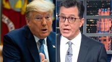 Colbert Torches Trump's Confused 'Plan To Plan To Have A Plan' For Coronavirus