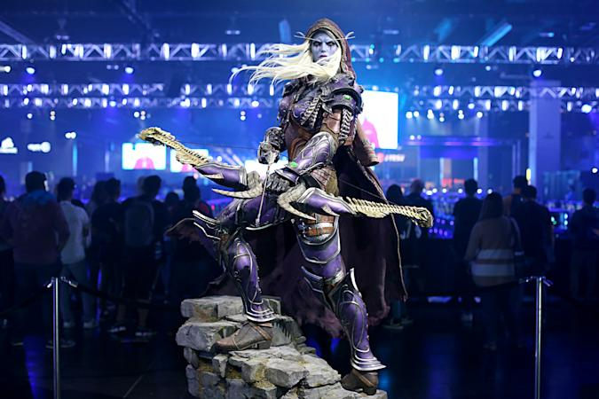 ANAHEIM, CALIFORNIA - NOVEMBER 01: A general view of the atmosphere at BlizzCon 2019 at the Anaheim Convention Center in Anaheim, CA on Nov. 1, 2019.  (Photo by Phillip Faraone/Getty Images for Blizzard Entertainment)