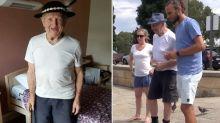 Heartwarming campaign makes war veteran's final wish come true