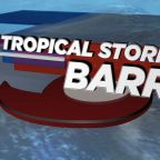 Barry makes landfall in Louisiana and weakens to tropical storm