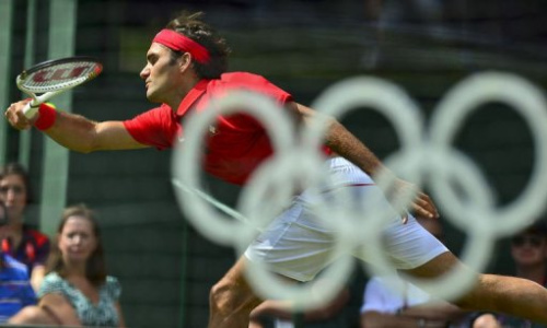 Un golpe de Federer