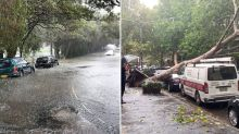 'Life-threatening' warning amid flash-floods and torrential rain - and it's not over yet