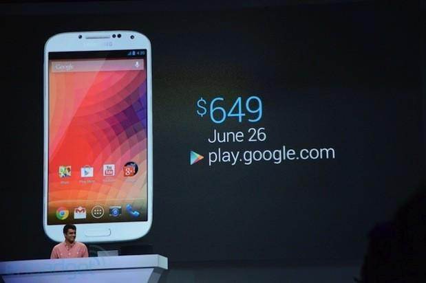 Stock Android edition Samsung GS4 and HTC One hit Google Play Store