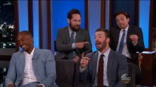 Kimmel Quizzes 'Captain America: Civil War' Cast on Their Friendship