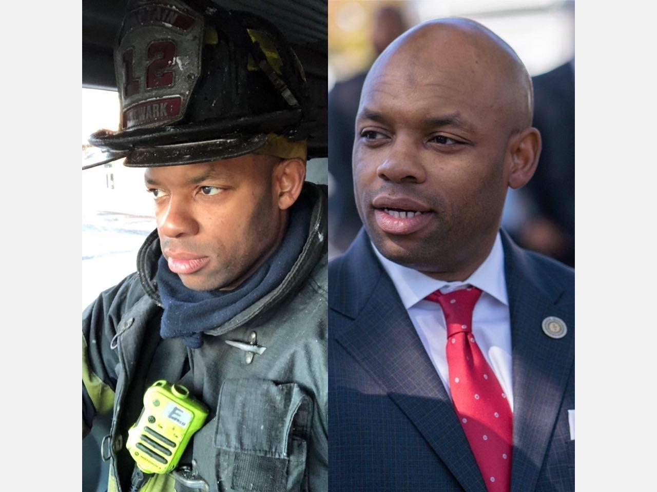 East Orange Councilman Mustafa Al-M. Brent, who also serves as a firefighter in Newark, says he's on the mend after being hospitalized for COVID-19.