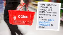 Have you been hit by this dodgy Coles supermarket scam?
