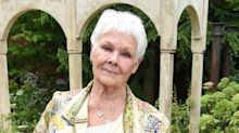 Judi Dench reminds everyone to 'just keep laughing' in lighthearted video message