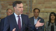 Morneau: 'The process we have in our country isn't that I report to journalists'