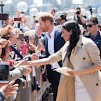 Meghan Markle Broke Royal Protocol When She Met a Little Girl Who Looked Just Like Her