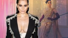 Cannes 2019: Kangana Ranaut stuns in sari and corset, and a dramatic pantsuit