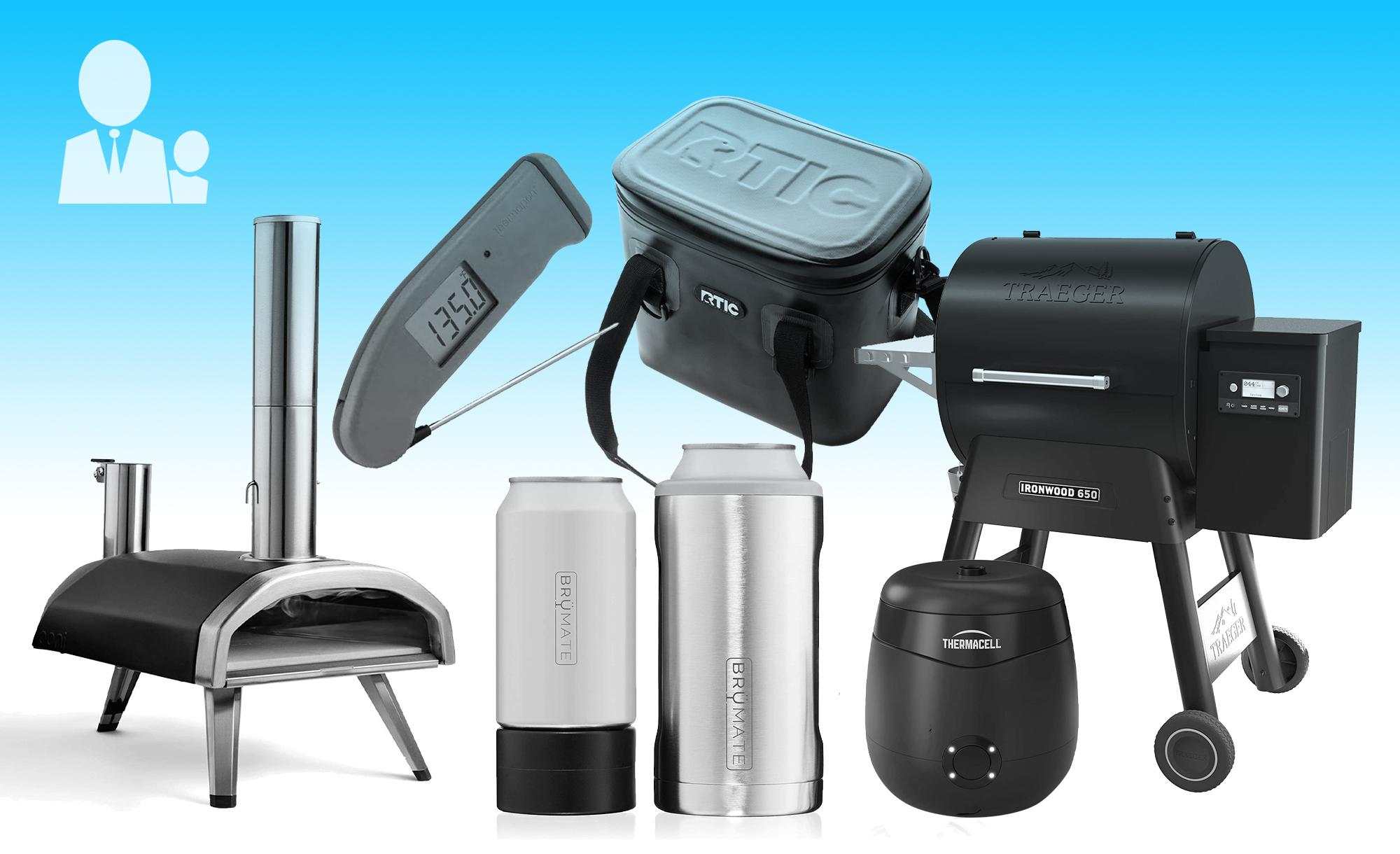 A collage or products from the Engadget Father's Day gift guide.