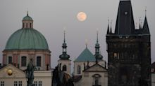 See Photos From Around the World of Last Night's Full Pink Super Moon