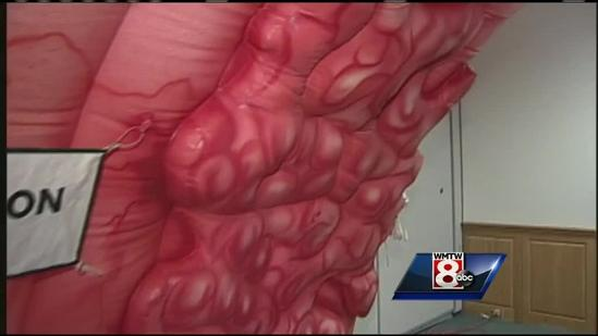 St. Mary's Regional Medical Center hosts giant colon