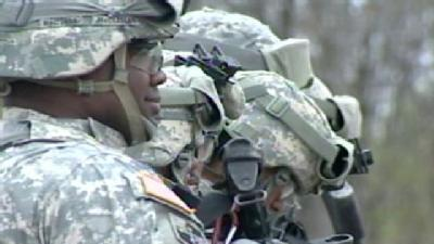 Md. National Guard Members Prep For Egypt Deployment