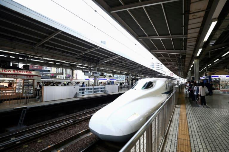 The high-speed Shinkansen train has an enviable safety record