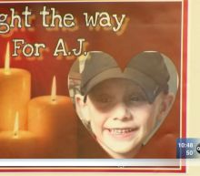 "Crystal Lake community holds vigil for missing boy to ""light the way for AJ"""
