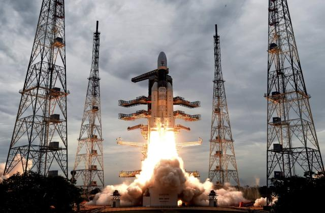 India's historic Moon mission takes off after week-long delay