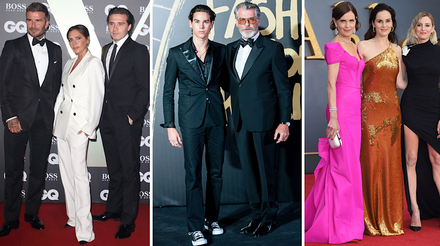 This month's best dressed celebs