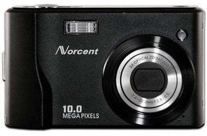Norcent cranks out 10-megapixel DCS-1050 camera