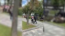 Estudantes marcham contra Lukashenko