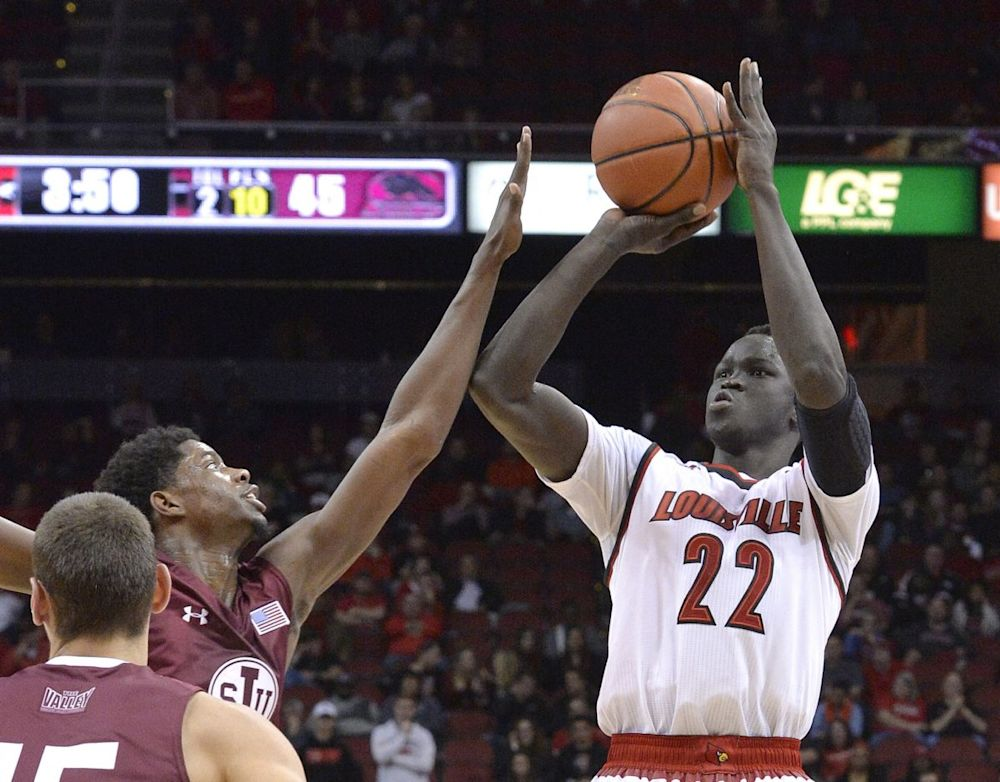 Deng Adel scored in double figures in 22 games last season. (AP)