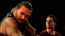 Henry Cavill se convierte en Aquaman, por un día