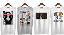 Camisetas de filmes e séries em promoção