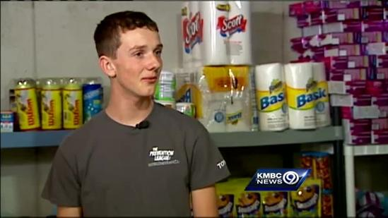 Extreme couponer saves money for family