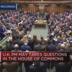 UK PM May: General election not in the national interest